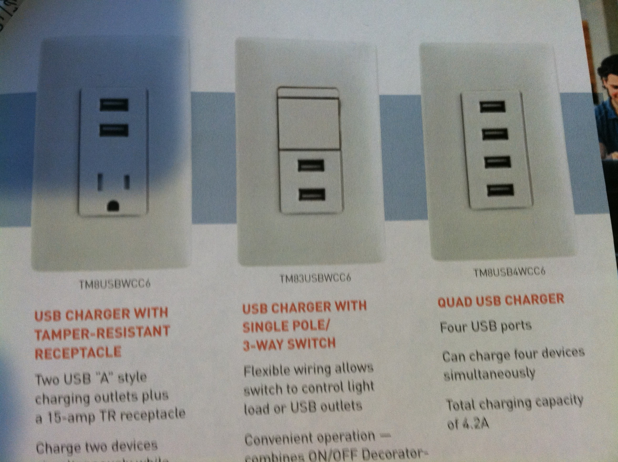 USB Receptacle Charger - Eagle Services of Gilbert AZ